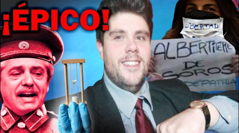Adiós Alberto - Nicolás Morás le canta sus verdades al presidente