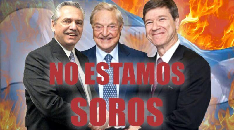 George Soros confirmó su apoyo a Alberto Fernández
