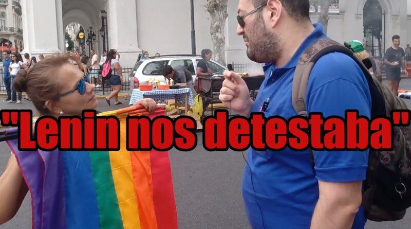 Libertario vs Marxistas LGBT