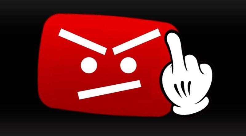 Morás si Youtube nos borro fin de la libre expresión