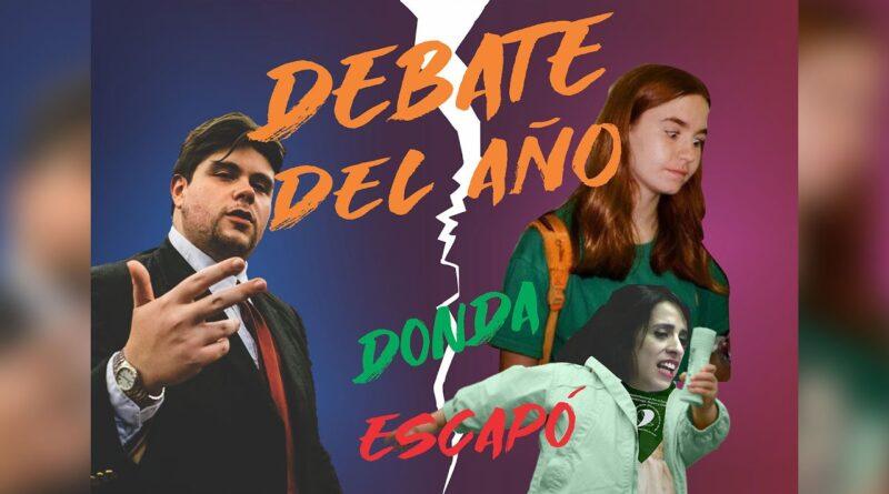 Nicolás Morás aniquila a feminista en debate radial