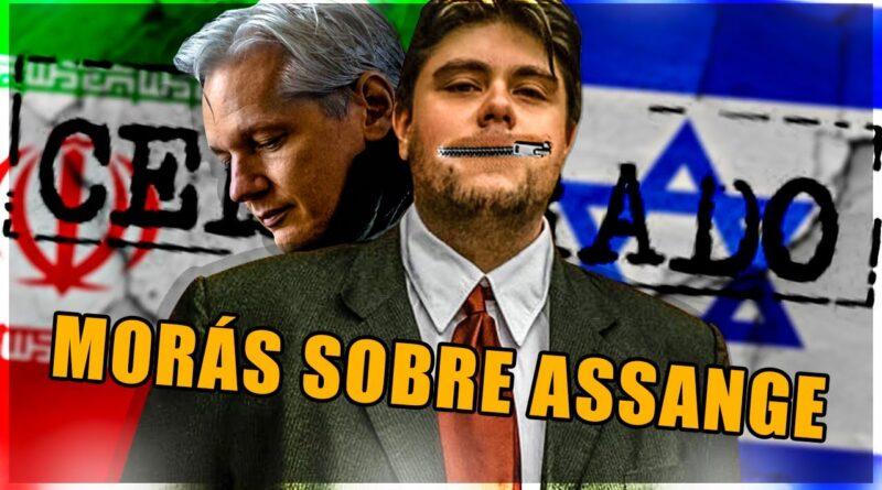 Nicolás Morás es censurado en televisión por defender a assange