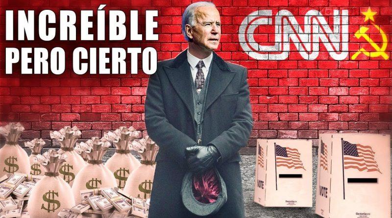 CNN admite DINERO SUCIO de BIDEN