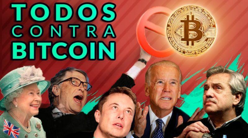 ¿Bitcoin PROHIBIDO? ₿ Biden, Gates, Musk y Fernández contra él